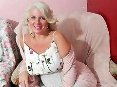 Curvy MILF Rosie: Mom Has First Rendezvous - Son Get's Seduced Instead