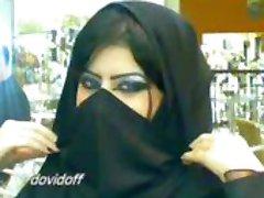 musulmonų sekso hijab analinis burną