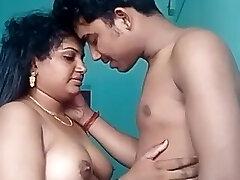 indiano hasband e moglie vivono