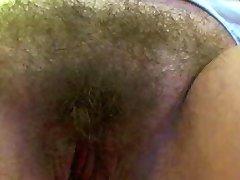 아내는'S 털이 음부