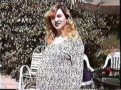 Nėščia mergina Katytė Kathy