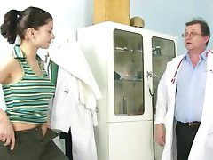Gyno patient Monika pussy speculum gyno clinic examination