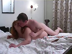 BBW Mom and Not Her Son on Bed
