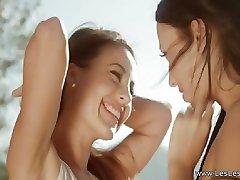 Les Lesbiche Amorevole All'Aperto