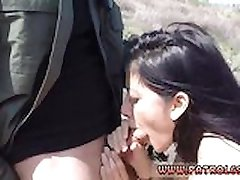 Milking small dick Mexican officer prpopses