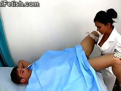 Nurse Probes and Jerks Patient