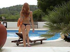 Slatka Redhead Teen - Senzualan Seks Sam - Репост