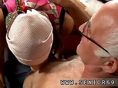 Old foot and old men double first time At
