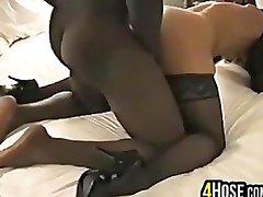 Cuckold Žmona Pakliuvom Ir Didelis Juodas Penis