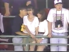 Groping In Stadium: Caught By TV