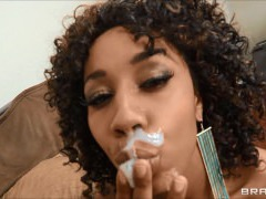 Facial Compilation! Ebony Beauties Part 1