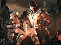 Mortal Kombat XXX Cassie Cage SFM Compilation