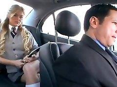 Ameerika Koolitüdruk pettused tema tüdruk koos vene