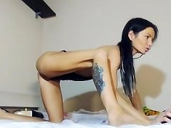 Hot Squirty Dame auf Cam