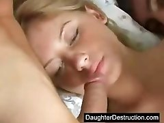 Teen gape destruction