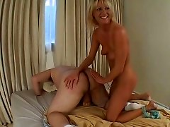 Insane Ashley blows phat dick