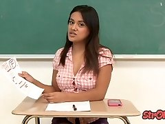 Bad Student Selma Sins Masturbates for Better Grade