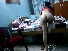 Indian Hidden Webcam Sex Scandal Poked In