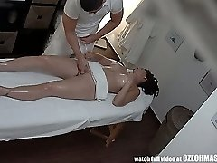 Busty MILF Gets Humped during Massage
