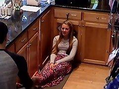 Hidden Cam Kolegijos Paauglių Kasos Merginos Kojos Kojas