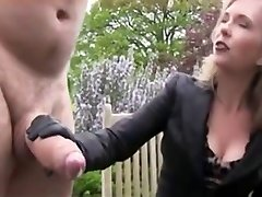 Huge Stiffy Gets Jerked and Cum