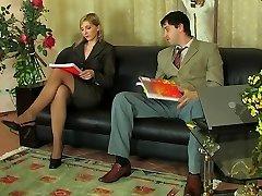 러시아 여자는 항문