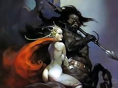 Erotische Fantasy Art 3 - Frank Frazetta