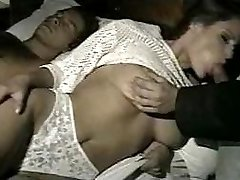 wife gets fucked in all holes while spouse is away