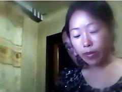 Kineski muž i žena dopušta mi watch
