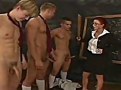 CFNM Classroom Manmeat Inspection