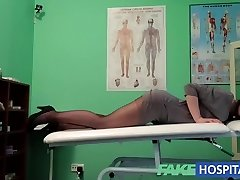 FakeHospital G spot rubdown gets hot brunette humid