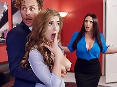 Angela White & Lena Paul & Michael Vegas in Porno Logic - Brazzers