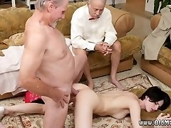 Starac ejakulira unutra prvi put Frannkie