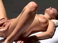 Multi Orgasmic Erotic Massage with grease.