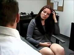Four Eyed Bore Casey Gets Poked At The Office