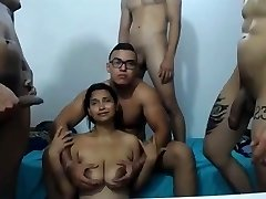my_house_is_scorching gangbang