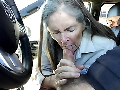할머니에 자동차