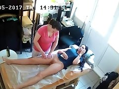 Russian Hidden Spy Web Cam: Anti-Cellulite Massage