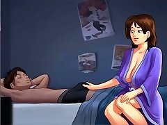 Mommy Goes To Son's Guest Room - toon