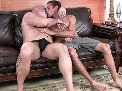 Hot daddy grizzly gets fucked