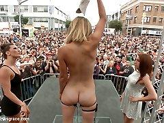 folsom gatvės spektaklis galutinis pažeminimas mona velsas - publicdisgrace