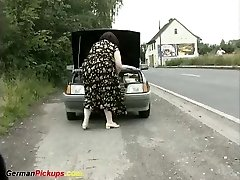mother and daughter picked up for a porno lesson