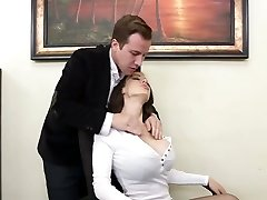 Supah slut McKenzie Lee gets tucked hard right on the table
