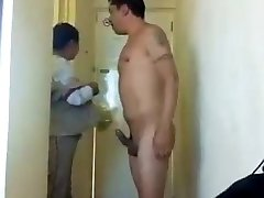 Suck Off by the Hotel Maid
