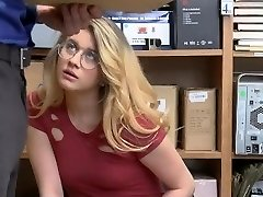 ShopLyfter - Sizzling Blondie Gets Caught Stealing And Need To Nail The Officer