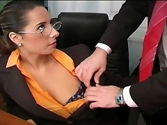 Jaw-dropping Daria Glower office fuck is superb