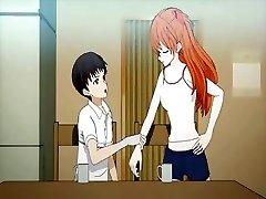 Paauglių anime mėgsta pūlingas palaižė