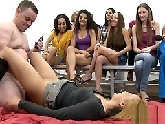 Naked dudes bang hot chicks