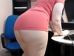 mature girl in office webcam JAMEYLA73 cb part 2.