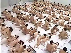 Huge Group Sex Orgy
